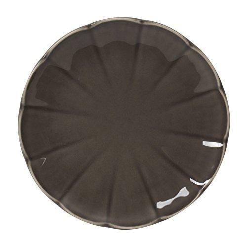 Table Passion - Assiette à dessert venice gris 21 cm (lot de 6)