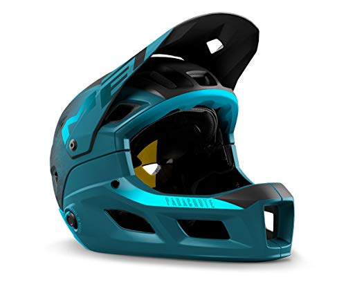 MET - Casco de ciclismo completo para BMX, MTB, Parachute MCR MIPS,...