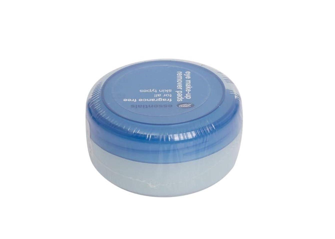 小売展望台サンダーessentials☆アイメイクリムーバーパット40枚入り(無香)eye make-up remover pads 40pcs(fragrance free)[並行輸入品]