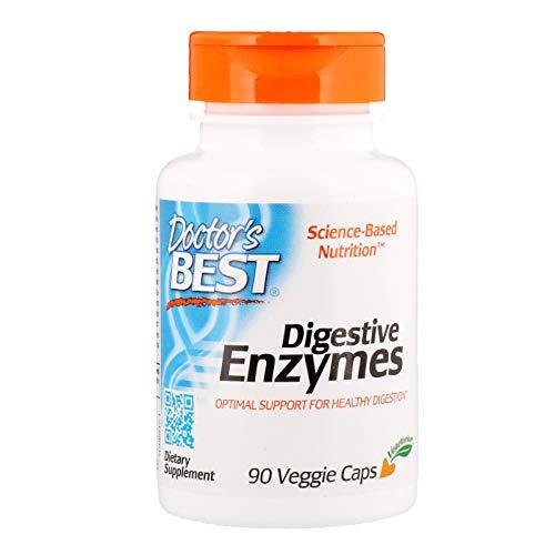 Doctor's Best, (2 Pack) Digestive Enzymes, 90 Veggie Caps