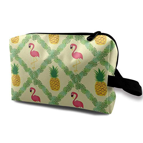 Casual Flamingo Pineapple Tote Bag Storage Bags
