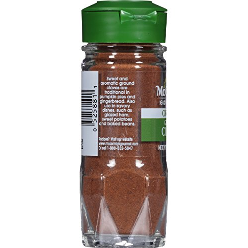 McCormick Gourmet Organic Ground Cloves, 1.75 oz