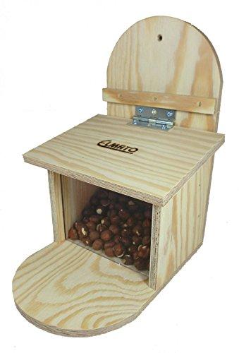 Elmato 10970 Lot de 2 mangeoires pour écureuil