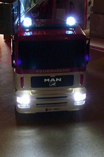 RC Feuerwehr kaufen Feuerwehr Bild 1: RC FEUERWEHR LKW MAN mit 7 Funktionen 35cm Ferngesteuert 2,4GHz*