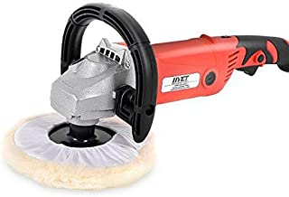 Goplus 7 Inch Electric Car Polisher 6 Variable Speed Buffer Waxer Sander Detail Boat w/Case (Basic Set)