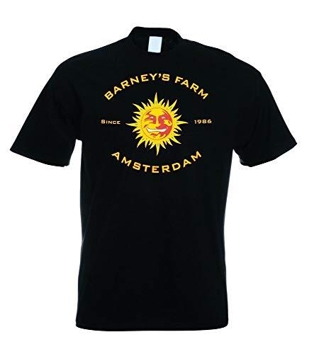 Chaofeng Barney'S Farm Amsterdam T Shirt Color- Black,Size- S