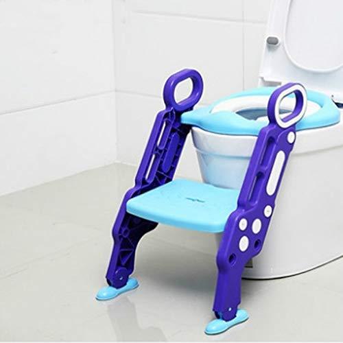 WXX Asiento de Inodoro de Entrenamiento for niños Pot Pot Plegable con...