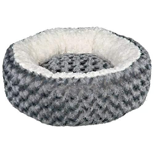 Trixie Bett Kaline ø 50 cm grau/Creme für Hunde und Katzen