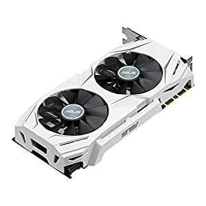 Asus GeForce GTX 1070 DUAL-GTX1070-O8GScheda Grafica, 8 GB, GDDR5