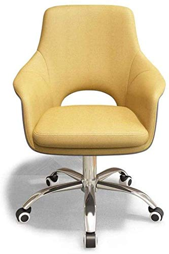 WSDSX Armchair Office Chair Seat Task Chair Office Swivel Computer Chair Arms Back Support Office Chair Mid Back Swivel Stool