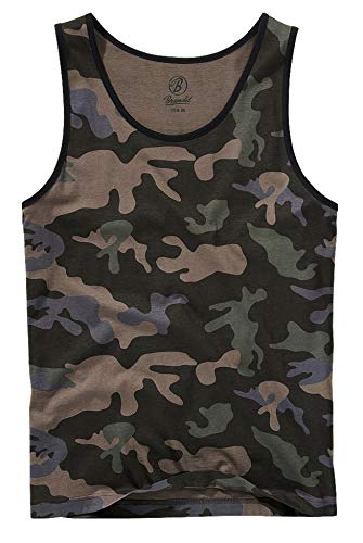 Brandit Tank-Top, Darkcamo XL
