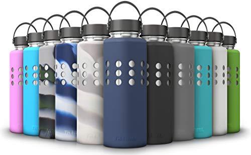 thermi Silikon Schutz Sleeve für Hydro Fläschchen Wasser Flaschen (mehrere Größen & Farben)