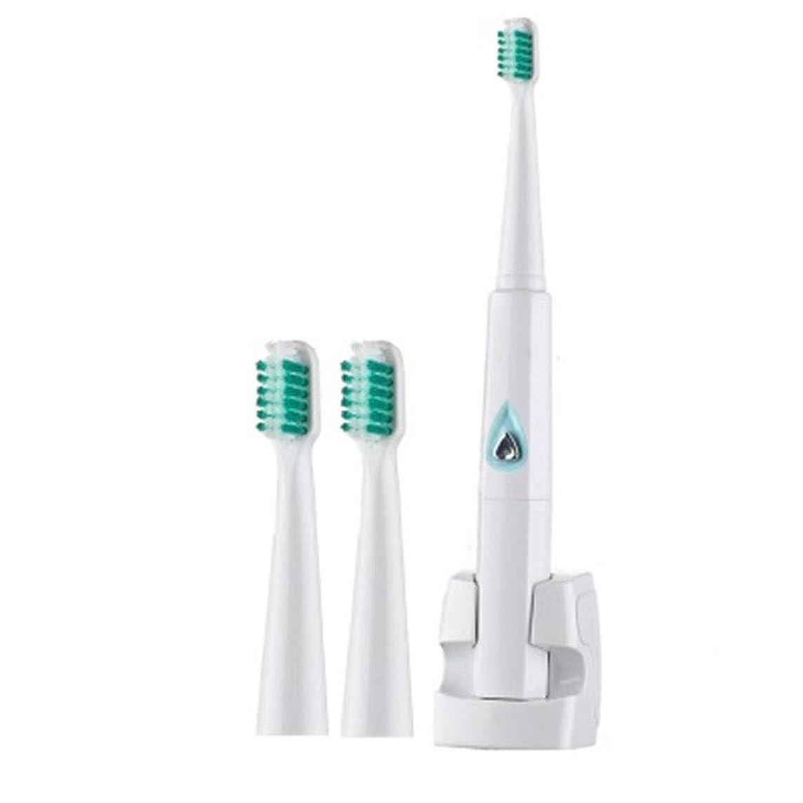 詐欺師押し下げる許可超音波電動歯ブラシ、無線誘導の防水振動歯ブラシ