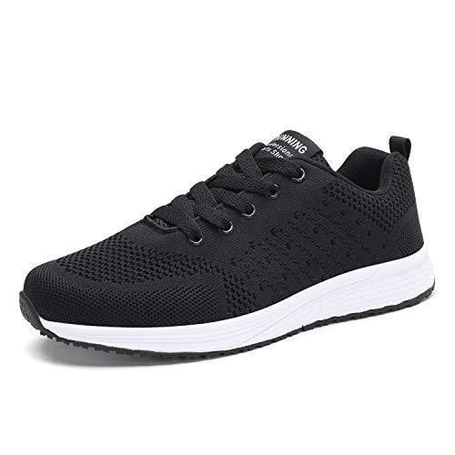 Orktree - Zapatillas de correr para mujer, ultraligeras, color Negro, talla 40 EU