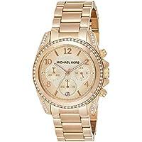 Michael Kors Reloj Cronógrafo para Mujer de Cuarzo con Correa en Acero Inoxidable MK5263