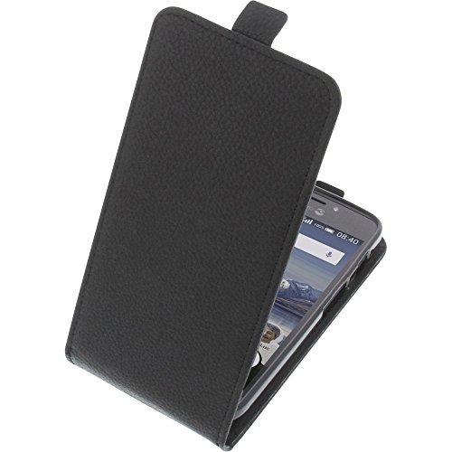 foto-kontor Tasche für Doro 8040 Smartphone Flipstyle Schutz Hülle schwarz