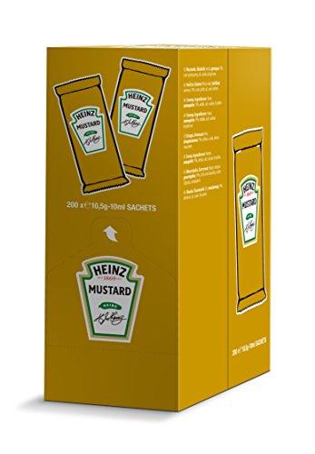 senape monodose Heinz 10 ml confezione da 200 pezzi