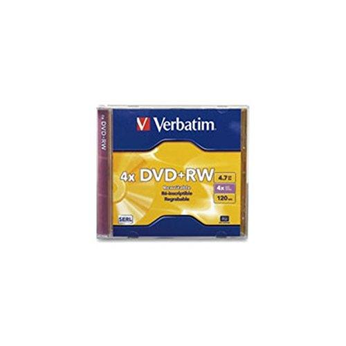 Verbatim Dvd+rw 4.7GB - Confezione da 1