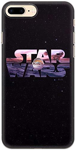 Carcasa de TPU Original de Star Wars para iPhone 7 Plus, iPhone 8 Plus, Funda de Silicona líquida, Flexible y Delgada, Protectora para Pantalla, a Prueba de Golpes y antiarañazos