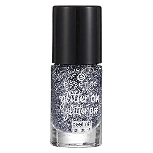 Essence, Nagellack (Glitter on glitter peel off 5) - 1 Stück