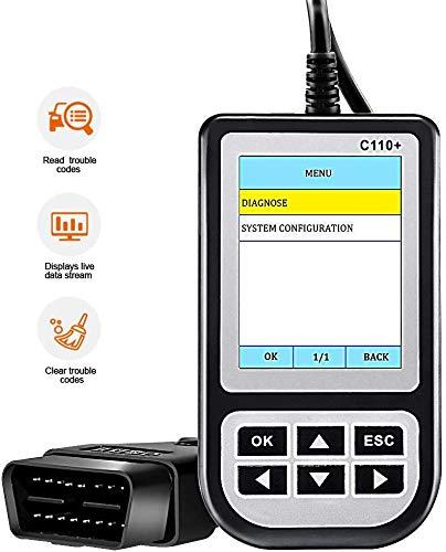 Creator Code Reader Car Diagnostic Tool C110 V6.0 Multi Tool SRS Airbag ABS OBD OBD2 Automotive Scanner Scan Tools Obdii Reader for BMW