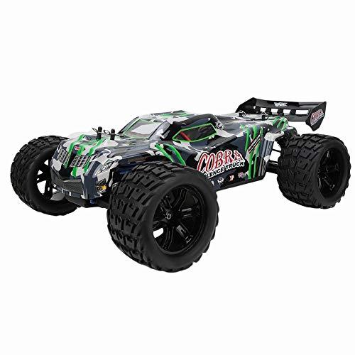 RC Car,2.4GHz 4WD RC Car Brushless Motor Ferngesteuertes Hochgeschwindigkeits-Rennfahrzeug mit Anti-Rutsch-System, 60 + kmh Geschwindigkeit, elektrisches Spielzeugauto für alle Erwachsenen/Kinder