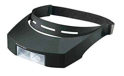 Eschenbach Optik 16430 laboCOMFORT Kopfbandlupe, schwarz, 3x