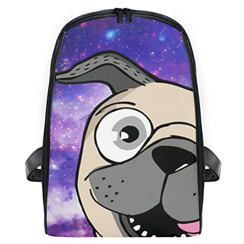Best Pug Mom Eve Galaxy Preschool Backpack Daypack School Bag for Boys and Girls