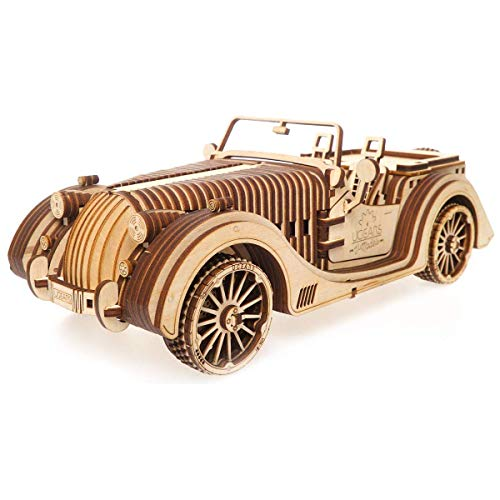 UGEARS Roadster VM-01 - 3D Puzzle de Madera Coche deportivo