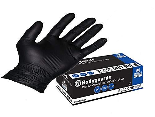 guanti neri Guanti neri piccolo set di 700 pezzi