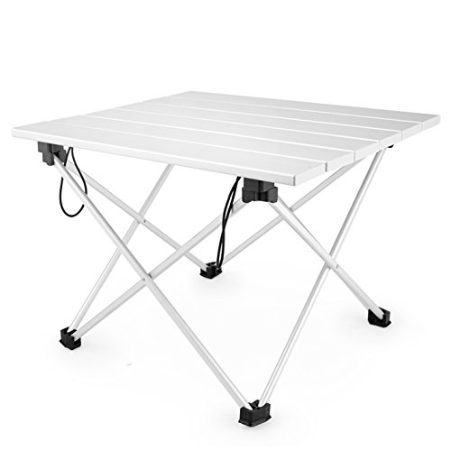 CAMPORT Ultralight Aluminum Portable Folding Camping Table
