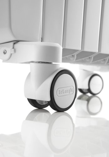 De'Longhi Dragon 4 TRD41025T Oil Filled Radiator - White
