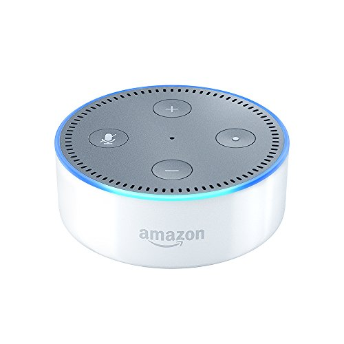 Amazon Echo Dot (2ème génération), Enceinte connectée avec Alexa, Blanc