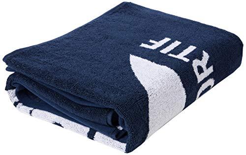 Le Coq Sportif Training Medium Towel Toalla, Adultos Unisex, Dress Blues (Azul), Talla Única
