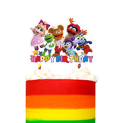 Decorations for Muppet Babies Cake Topper Birthday Party Supplies Decor for Children