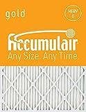 Accumulair Gold 20x23x1 (Actual Size) MERV 8 Air Filter/Furnace Filter (2 Pack)
