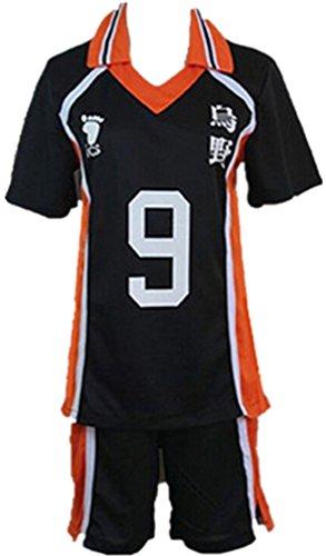 Haikyu!! Haikyuu Karasuno High School Uniform No. 9 Tobio Kageyama Cosplay Costume - http://coolthings.us