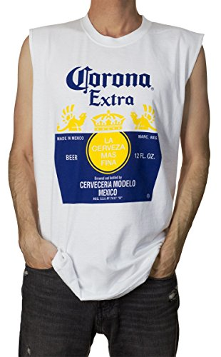 Calhoun Corona Extra Muscle Art Männer Tank Top Kleine