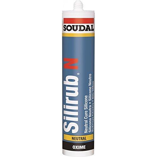 SOUDAL - Silicona neutra silirub ral.7016