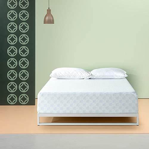 Zinus 12 Inch Gel-Infused Green Tea Memory Foam Mattress / Cooling Gel Foam / Pressure Relieving / CertiPUR-US Certified / Bed-in-a-Box, Queen