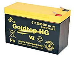 High quality & Last long Japanese Brand Battery produced in Taiwan for Fiber to the home system 12V, 8Ah Applied for Verizon Fios, AT&T, Centurylink and most other FTTH systems 11% longer back-up/talk time than PX12072 battery Rechargeable, maintenan...