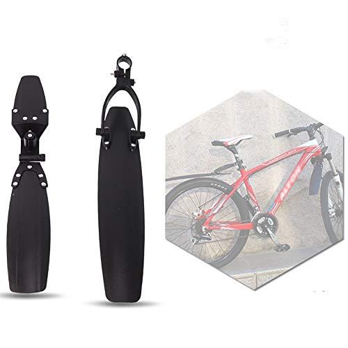 LIANJIE Vélo Fender Set, Réglable Route VTT Faire du Vélo des Pneus Avant/Boue Arrière Garde-Boue Garde-Boue Ensemble, Mountain Bike De Cyclisme sur Route Rapide Plate Pluie De Presse