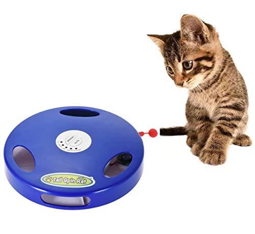 Juguete para gatos de todas las edades, ratón electrónico. Proporciona ejercicio y diversión, su gato no podrá resistirse