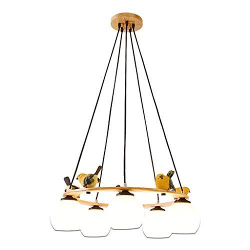 Hanglamp hanglamp kinderkamer restaurant eettafel rond kleine woning woonkamer kroonluchter 5 LED