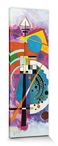 1art1 Vassili Kandinsky - Homenaje A Grohmann, 1926 Cuadro, Lienzo Montado sobre Bastidor (150 x 50cm)