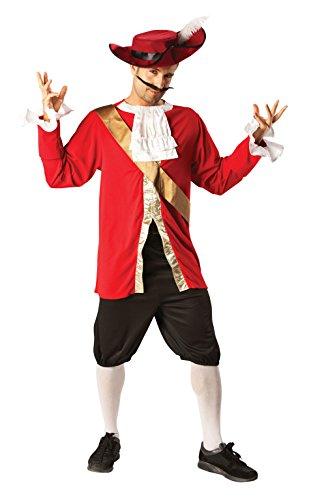 Rubie's officiële kapitein haak mannen Fancy jurk boek week piraat volwassen kostuum Outfit + hoed