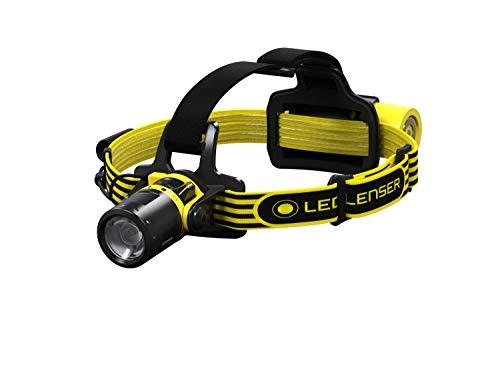 Ledlenser - Linterna frontal recargable LEDLENSER EXH8R ATEX Z1 200 lumens