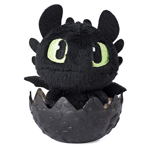 How to Train Your Dragon: Hidden World - Toothless Plush in Egg
