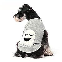 ペットの猫の犬の服、犬の服の厚い冬の服、ペットの犬の服テディベアXiulanナイ綿の底入れベスト、Kejiの服の冬の服、猫の犬の服-L