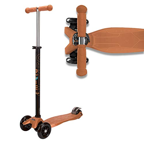 Micro Kinderroller Maxi Kickboard Bronze mit T-Lenker